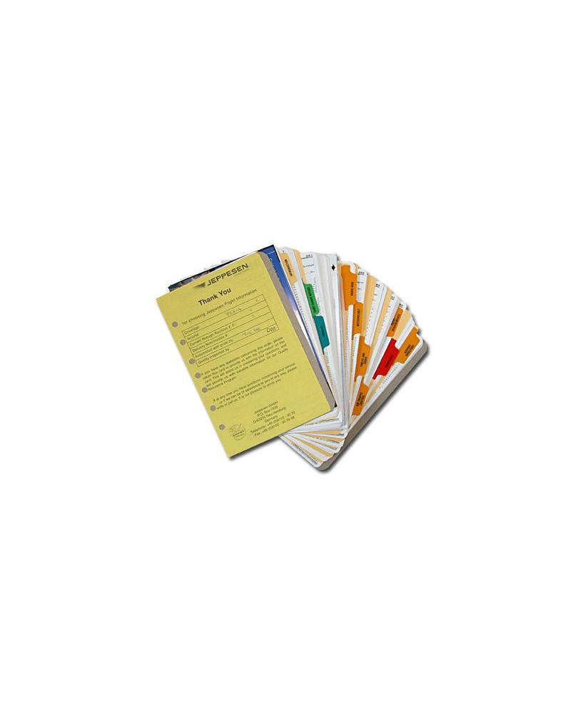 Atlas Airway Manual Jeppesen - Tome 1, avec index, sans classeur