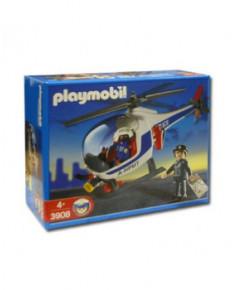 L'hélicoptère de police Playmobil® - blanc