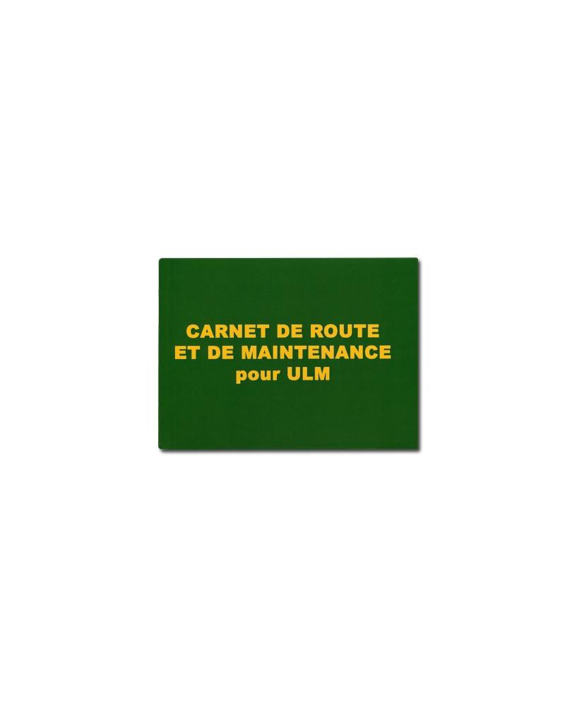 Carnet de route et de maintenance pour U.L.M.