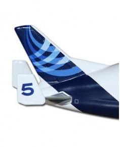 Maquette métal A300-600 ST Beluga n° 5 nouvelles couleurs Airbus 2010 - 1/400e