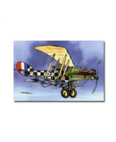 Carte postale humoristique Bristol Fighter F2b