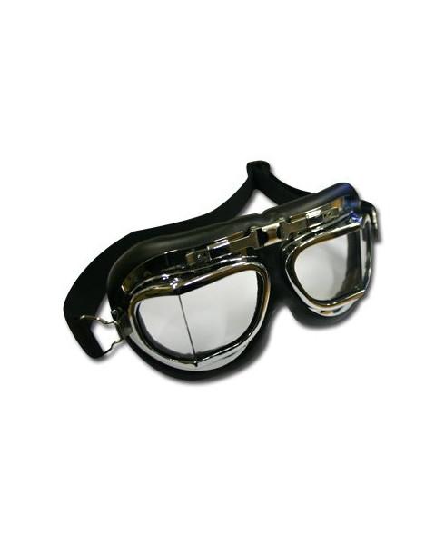 Lunettes Goggles - finition chromée