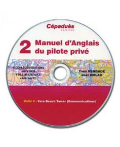 Manuel d'anglais du Pilote Privé (Tome 1) - version 8 C.D.