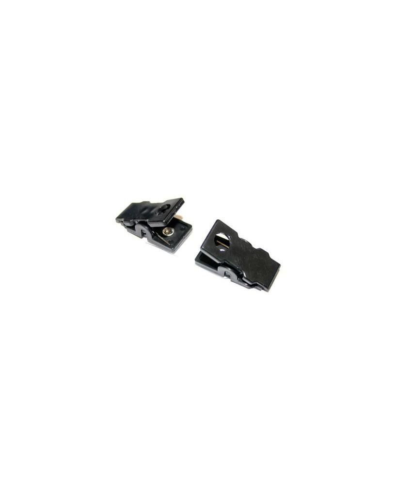 Pince vêtement pour câble de casque (Telex)