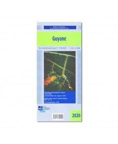 Carte Vol à Vue Guyane - S.I.A. 2020