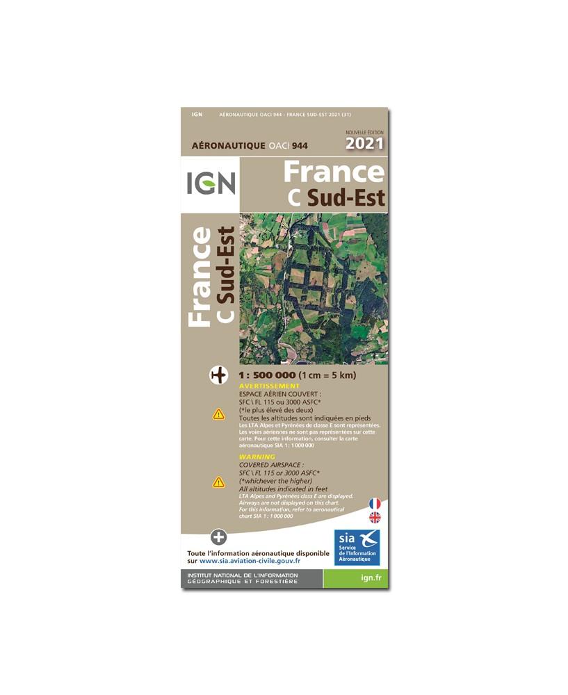 Carte 2021 Sud-Est PAPIER