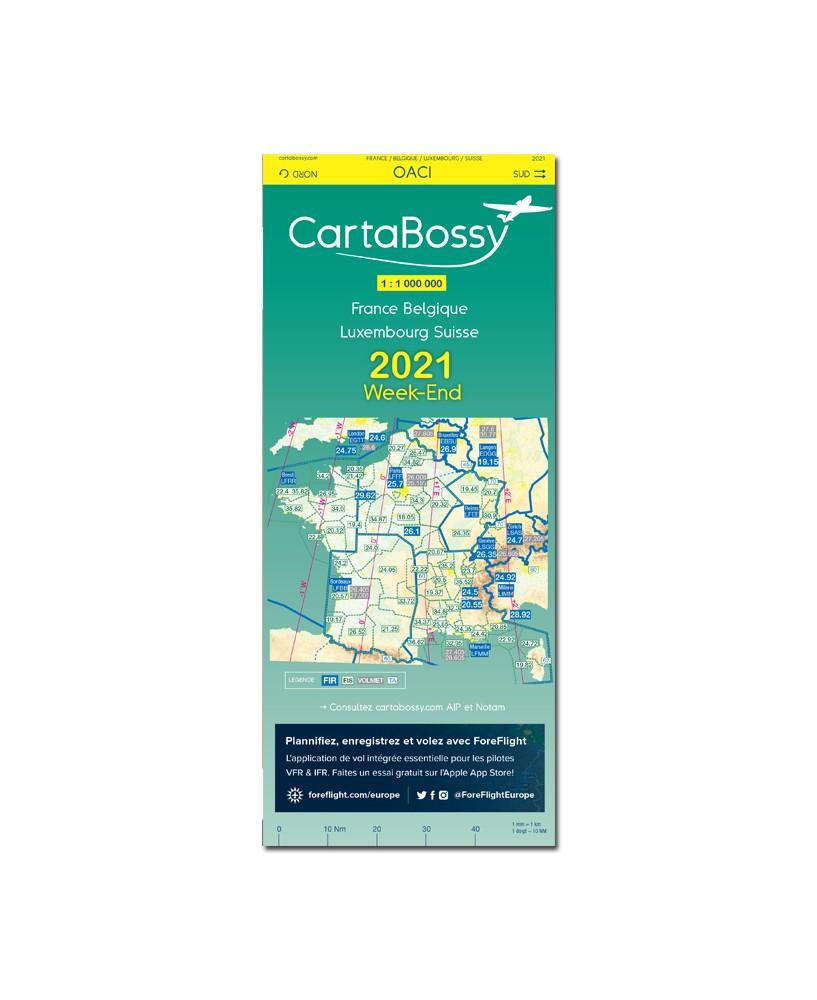 CartaBossy V.F.R. France WEEK-END 2021