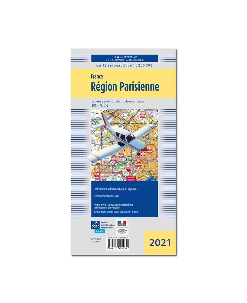 Carte Région Parisienne - Mars 2021