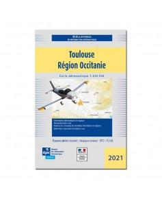Carte Toulouse Occitanie Mars 2021