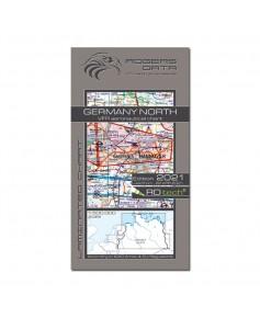 Carte 2021 1/500 000e V.F.R. Allemagne - Nord Rogers Data
