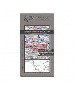 Carte 2021 1/500 000e V.F.R. Allemagne - Sud Rogers Data