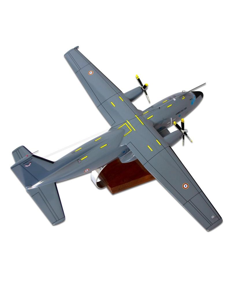 Maquette bois C160 Transall NG gris - 1/76e
