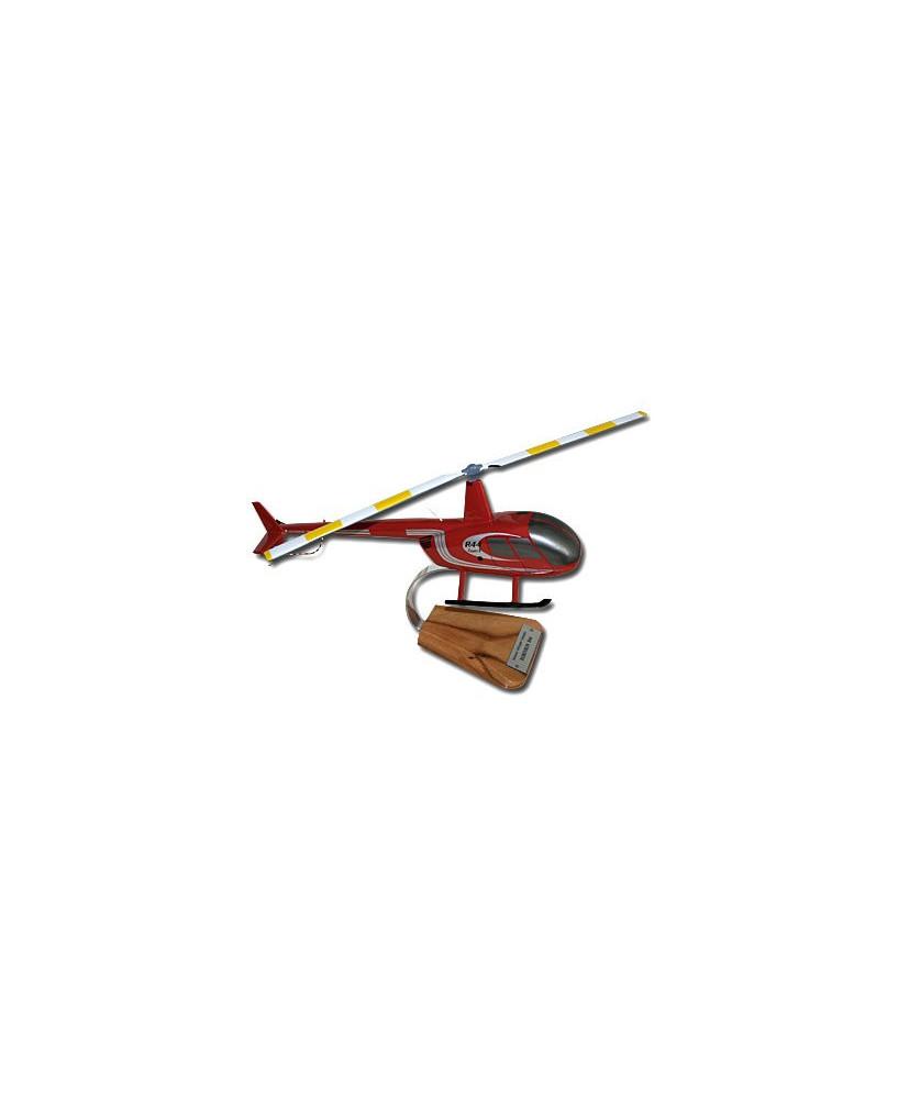 Maquette bois Robinson R44 -1/24e