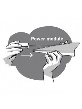 Avion en papier motorisé Power Up 2.0