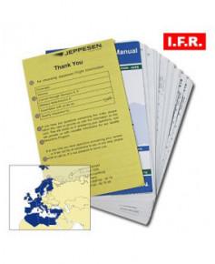 Trip kit I.F.R. Europe et Méditerranée (espace supérieur) Jeppesen