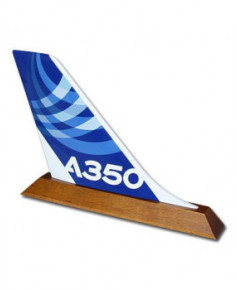 Dérive sur socle A350 XWB