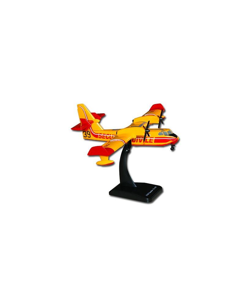 Maquette plastique Canadair CL415 Sécurité Civile