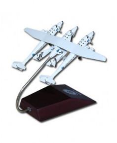 Maquette métal avion-porteur et navette Virgin Galactic - 1/400e