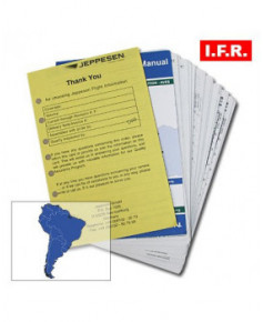 Trip kit I.F.R. Amérique du Sud (inférieur/supérieur)
