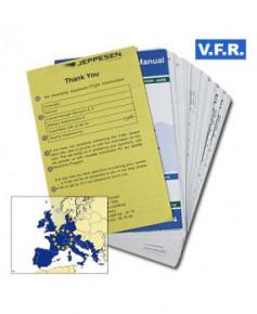 Trip kit V.F.R. Manual Europe de l'Ouest (Edition Echo sans classeurs)