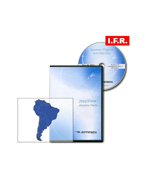 Trip kit Jeppview I.F.R. Amérique du Sud (mise à jour unique)