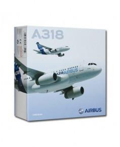 Maquette métal A318 nouvelles couleurs Airbus 2010 - 1/400e