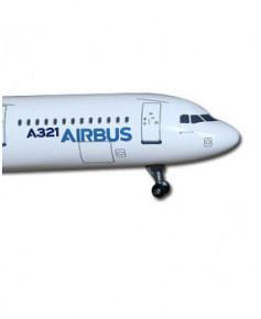 Maquette métal A321 nouvelles couleurs Airbus 2010 - 1/400e
