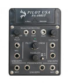 Intercom Pilot Comm PA400ST pour 4 casques