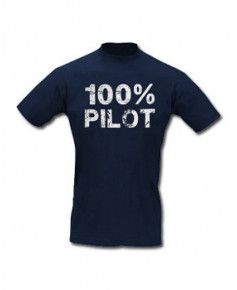 Tee-shirt 100% Pilot - Taille L