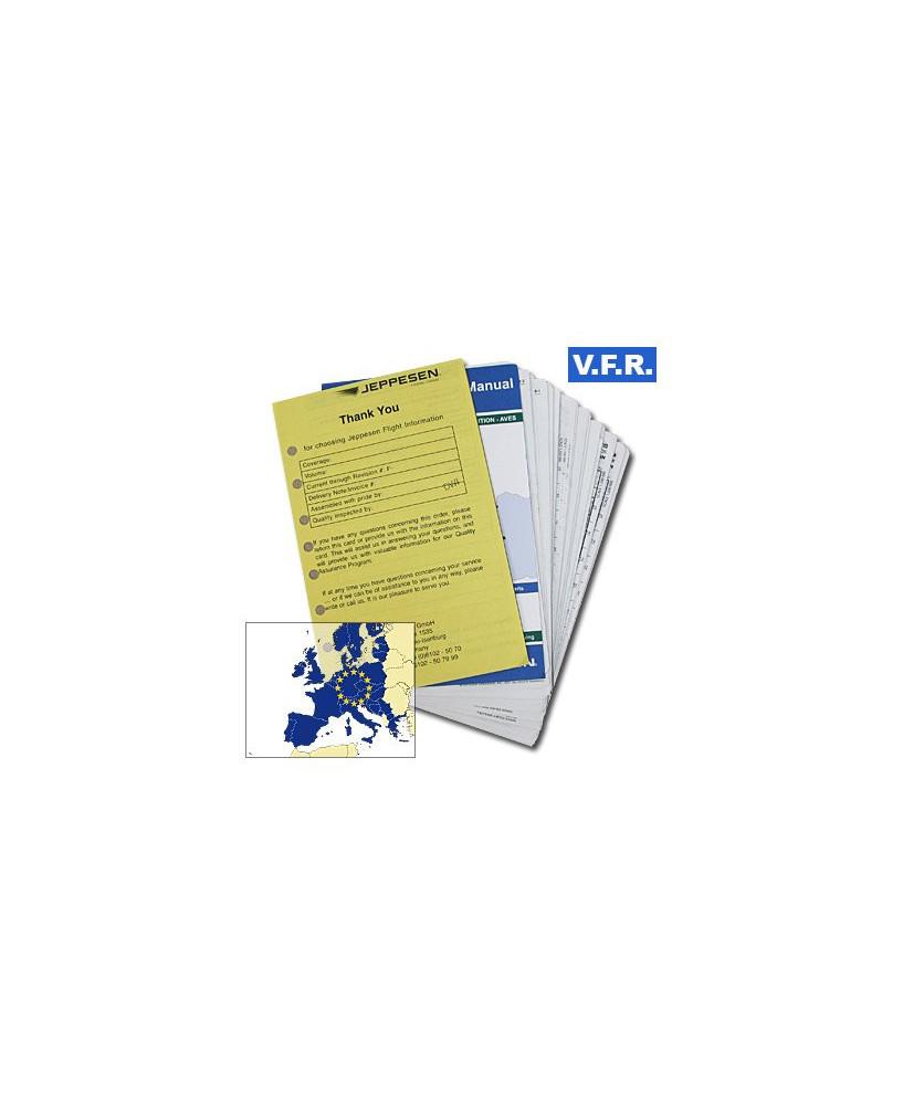 Trip kit V.F.R. Manual Europe de l'Ouest (Edition Alpha sans classeurs)