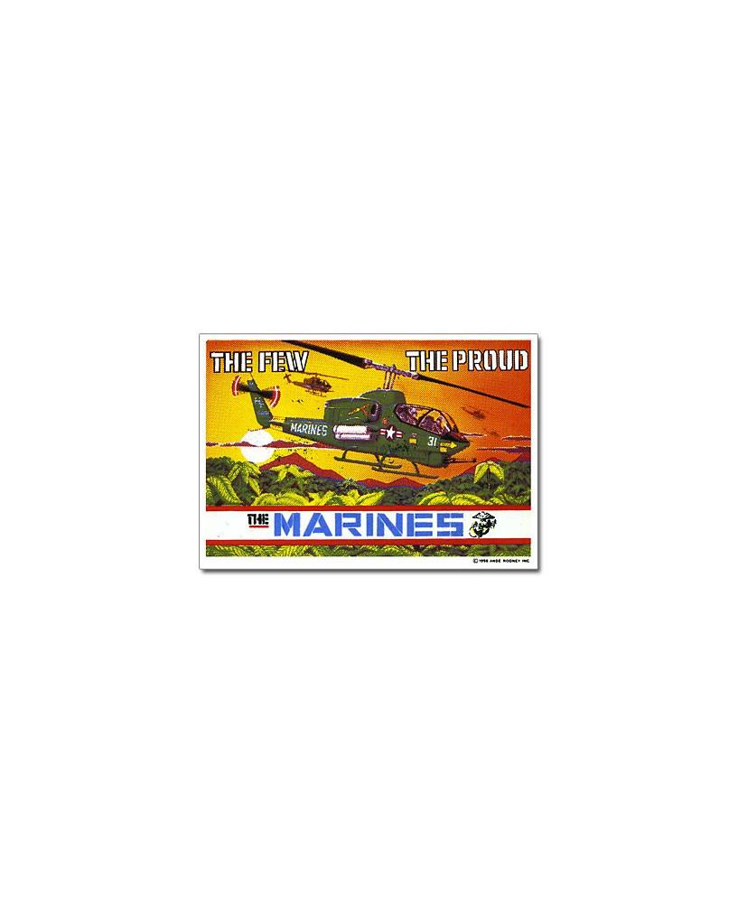 Magnet émaillé Marine Cobra