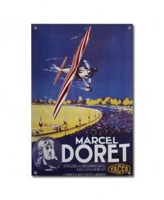 Plaque émaillée Marcel Doret / Yacco