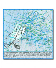 Carte Jeppesen Europe En Route haute altitude E(HI) 5/6