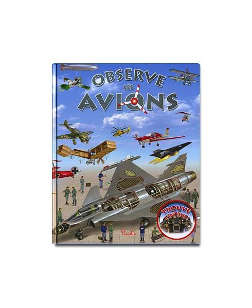 Observe les avions
