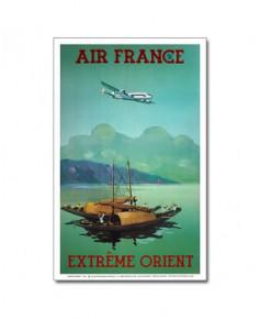 Affiche Air France, Extrême Orient