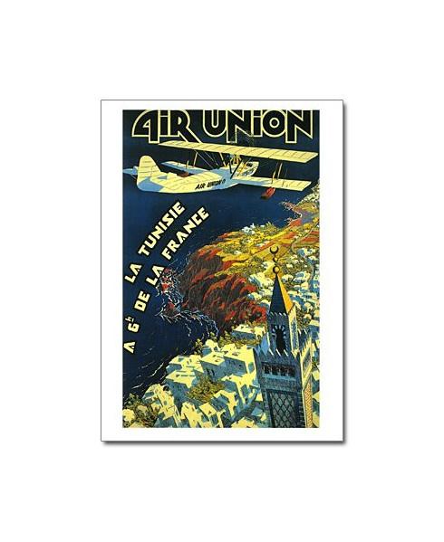 Carte postale Air Union