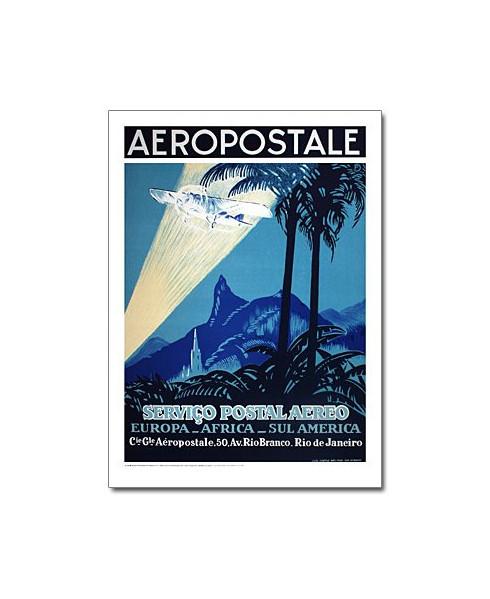 Lithographie Aéropostale - Serviço Postal Aereo