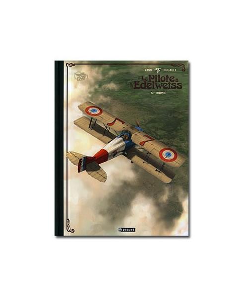 Le Pilote à l'Edelweiss - Tome 2 : Sidonie (Version de Luxe)
