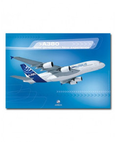 Poster A380 New generation New experience