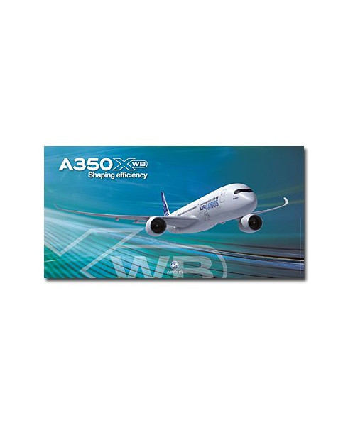 Poster A350 XWB Shaping efficiency