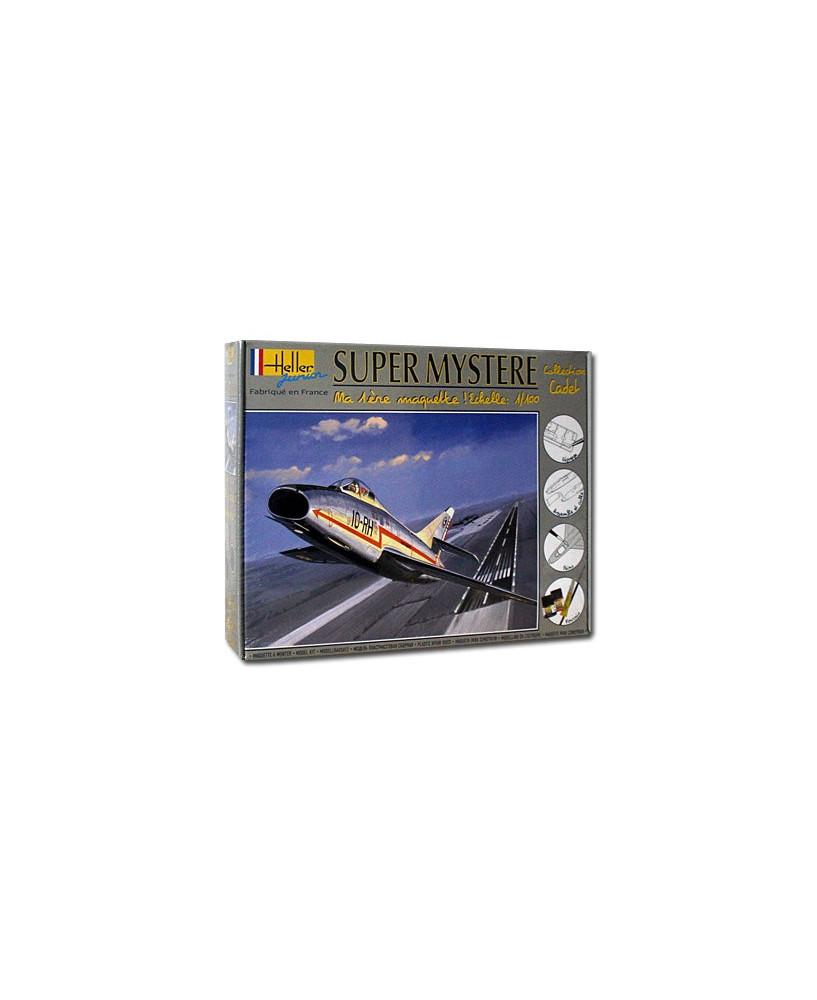 Coffret maquette à monter Super Mystère B2 - 1/100e