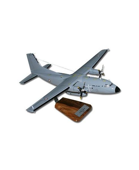 Maquette bois C160 Transall gris O.T.A.N.