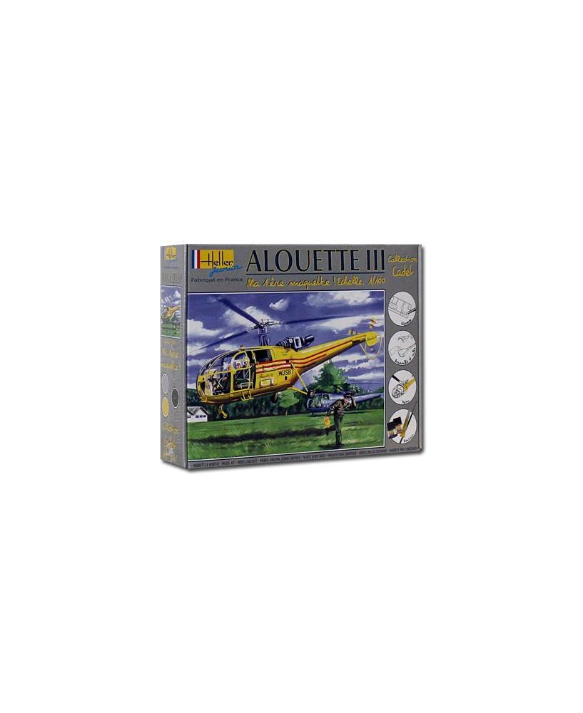 Coffret maquette à monter Alouette 319B III - 1/100e