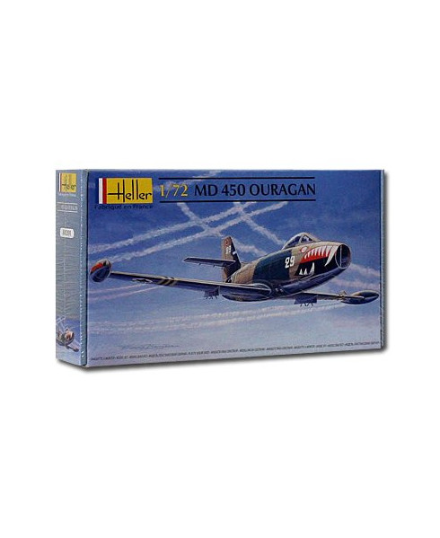 Maquette à monter MD450 Ouragan - 1/72e