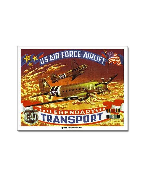 Magnet émaillé C47 Transport