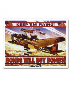 Magnet émaillé B17 Bomber