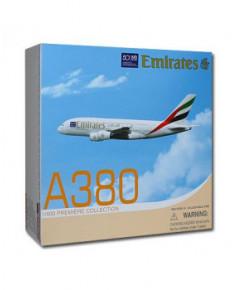 """Maquette métal A380 Emirates """"50th Anniversary"""" - 1/400e"""