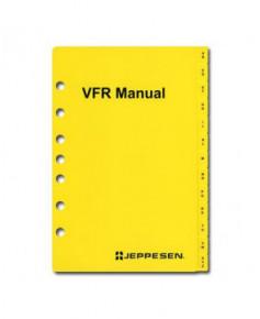 Index alphabétique pour classeur Jeppesen V.F.R. Manual