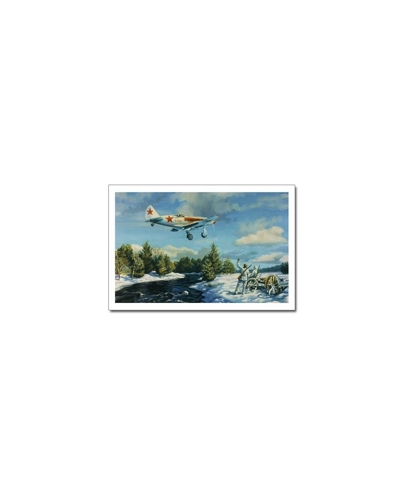 Carte postale Benjamin FREUDENTHAL - Za Rodinou