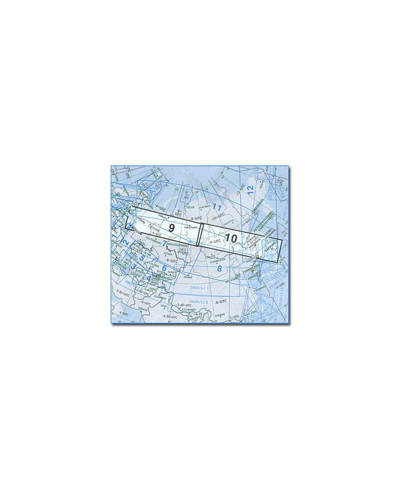 Carte Jeppesen Eurasie En Route haute et basse altitude EA(H/L) 9/10